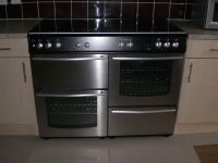 Range style gas cooker