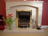 Dfe gas fire and surround